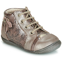 Shoes Girl Hi top trainers GBB NICOLE Pink / Gold
