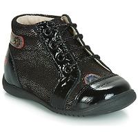 Shoes Girl Hi top trainers GBB NICOLE Black / Glitter
