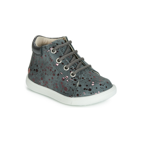Shoes Girl Hi top trainers GBB NICKY Grey / Pink