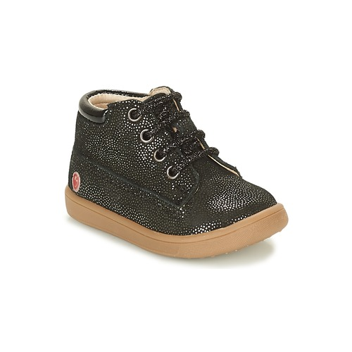 Shoes Girl Hi top trainers GBB NINON Black / Glitter