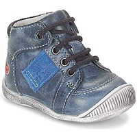 Shoes Boy Hi top trainers GBB RACINE Marine