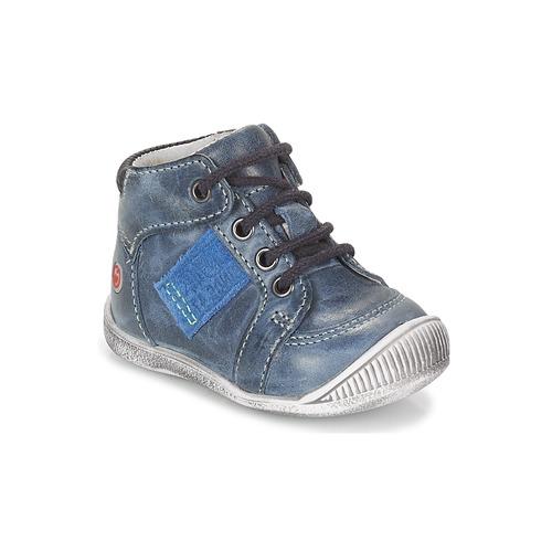 Shoes Boy Hi top trainers GBB RACINE Marine