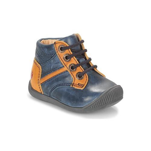 Shoes Boy Hi top trainers GBB RATON Marine