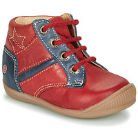Shoes Boy Hi top trainers GBB RATON Red