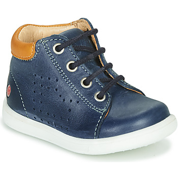 Shoes Boy Hi top trainers GBB NERISSON Vte / Marine / Messi