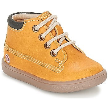 Shoes Boy Hi top trainers GBB NORMAN Brown / Mustard