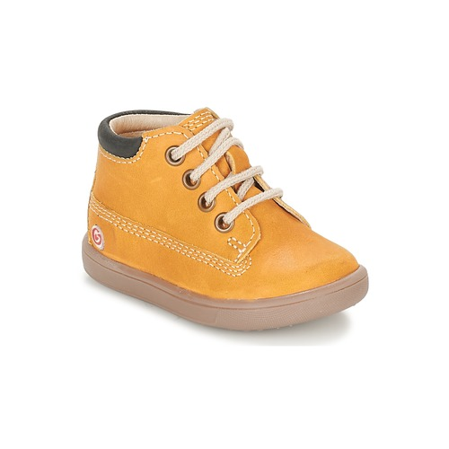 Shoes Boy Hi top trainers GBB NORMAN Mustard
