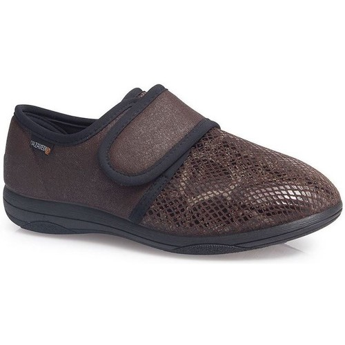 Shoes Women Loafers Calzamedi SHOES  LADY EXTRA COMFORTABLE W BROWN