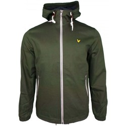 Clothing Men Macs Lyle And Scott Vintage Hooded Twill Jacket green