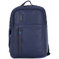 Bags Men Rucksacks Piquadro BLU ZAINO PORTA DOCUMENTI Blu