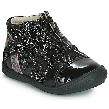 Shoes Girl Hi top trainers GBB ROSETTA Black / Silver