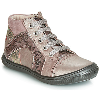 Shoes Girl Hi top trainers GBB ROSETTA Pink