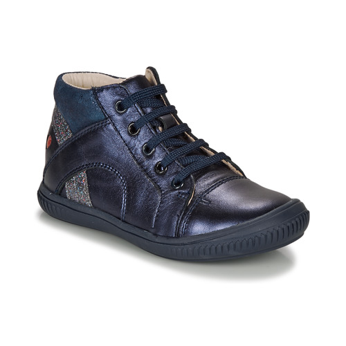 Shoes Girl Hi top trainers GBB ROSETTA Blue