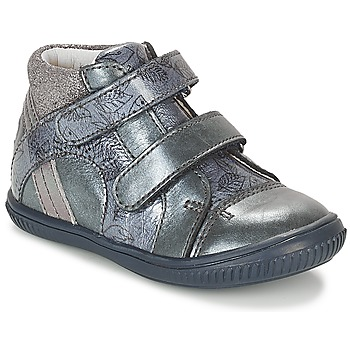Shoes Girl Hi top trainers GBB ROXANE Blue / Grey