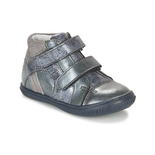 Shoes Girl Hi top trainers GBB ROXANE Blue / Grey