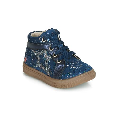 Shoes Girl Hi top trainers GBB NAVETTE Marine