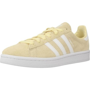 Shoes Women Low top trainers adidas Originals CAMPUS Yellow