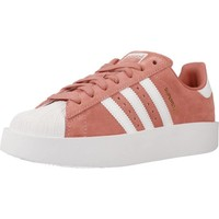 Shoes Women Low top trainers adidas Originals SUPERSTAR BOLD W Pink