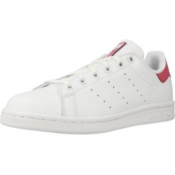 Shoes Women Low top trainers adidas Originals STAN SMITH J White