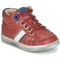 Shoes Boy Hi top trainers GBB ANGELITO Bordeaux