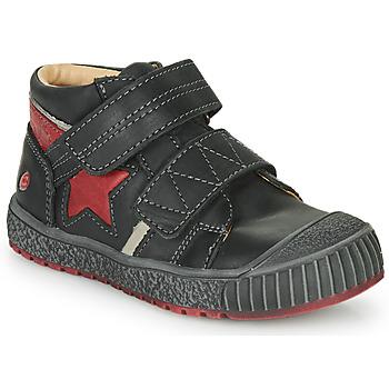 Shoes Boy Hi top trainers GBB RADIS Vte / Black-brick / Linux