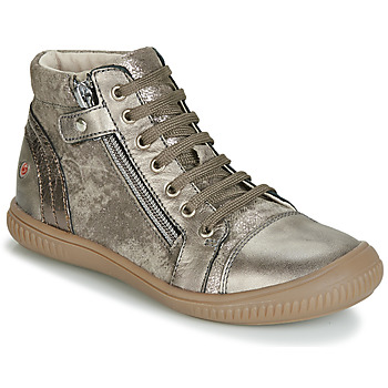 Shoes Girl Hi top trainers GBB RACHIDA Taupe / Bronze