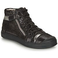 Shoes Girl Hi top trainers GBB DESTINY Black / Silver