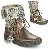 Shoes Girl High boots GBB NOUSTIK Bronze