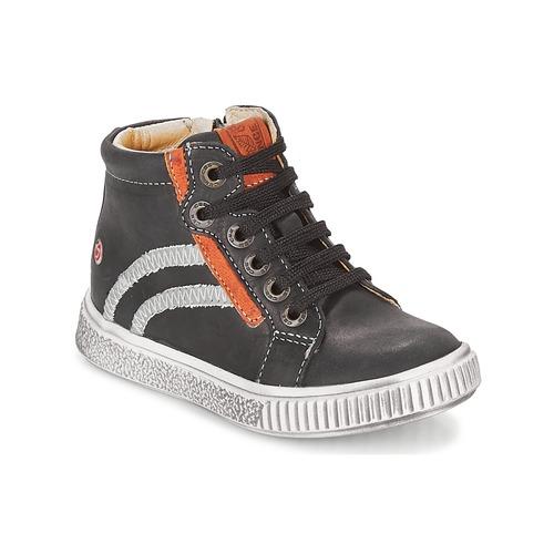 Shoes Boy Hi top trainers GBB NESTOR Black