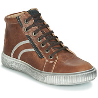 Shoes Boy Hi top trainers GBB NESTOR Brown