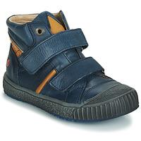 Shoes Boy Hi top trainers GBB RAIFORT Marine / Ocre tan