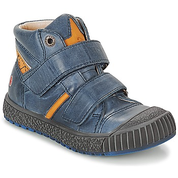 Shoes Boy Mid boots GBB RAIFORT Vte / Navy ochre / Linux