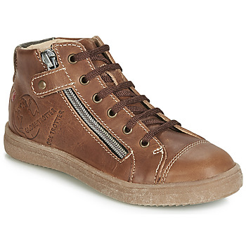 Shoes Boy Hi top trainers GBB NICO Brown
