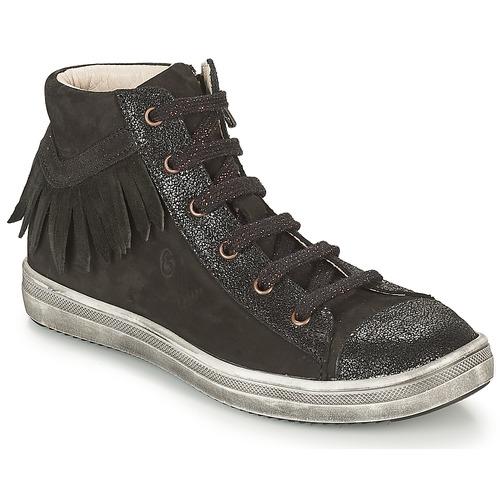 Shoes Girl Hi top trainers GBB FRANCESCA Black