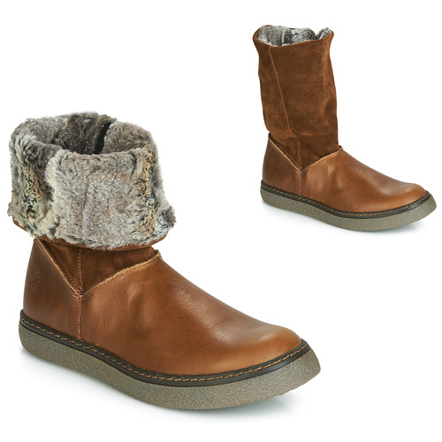 Shoes Girl High boots GBB DUBROVNIK Brown