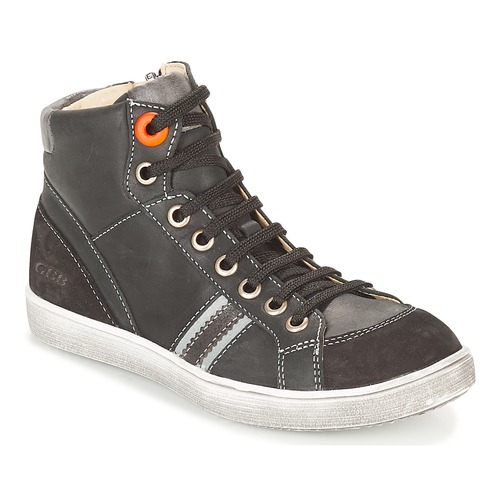 Shoes Boy Hi top trainers GBB ANGELO Black