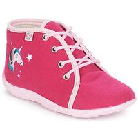 Shoes Girl Slippers GBB FEE ARC EN CIEL Pink