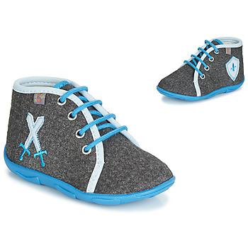 Shoes Boy Slippers GBB DAGONET Grey / Blue