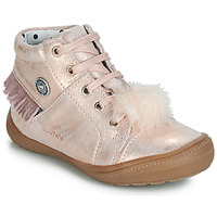 Shoes Girl Hi top trainers Catimini ROSALIE Vte / Pink / Powder