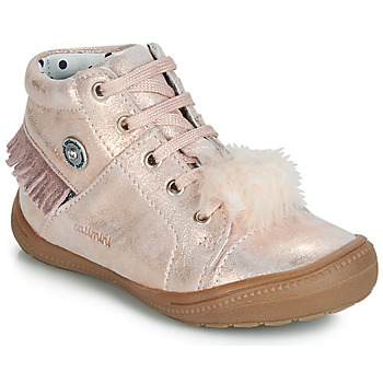 Shoes Girl Hi top trainers Catimini ROSALIE Pink