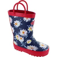 Shoes Girl Wellington boots Chipmunks Daisy Floral