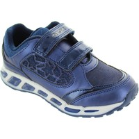 Shoes Girl Low top trainers Geox J Shuttle GA /navy