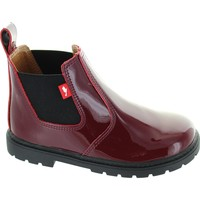 Shoes Girl Ankle boots Chipmunks Ranch Burgundy