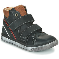 Shoes Boy Hi top trainers Catimini ROBBY Black