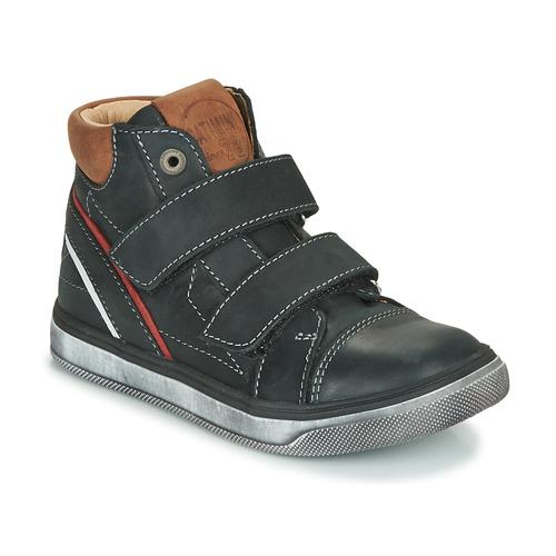 Shoes Boy Hi top trainers Catimini ROBBY Black