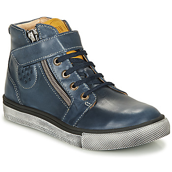 Shoes Boy Hi top trainers Catimini TOBBY Marine