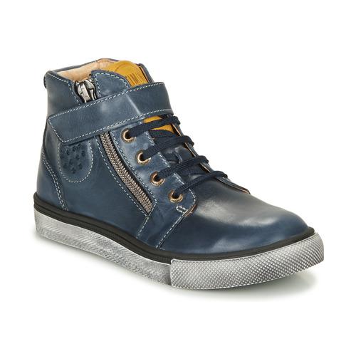 Shoes Boy Hi top trainers Catimini TOBBY Marine