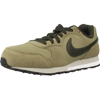 Shoes Low top trainers Nike MD RUNNER 2 (GS) Green
