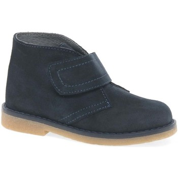 Shoes Boy Mid boots Melania Clark Youth Boy's Rip Tape Desert Ankle Boots blue
