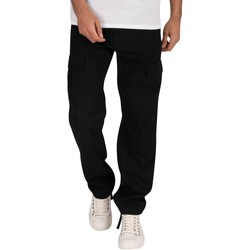 Clothing Men Tracksuit bottoms Carhartt Aviation Slim Fit Cargos black